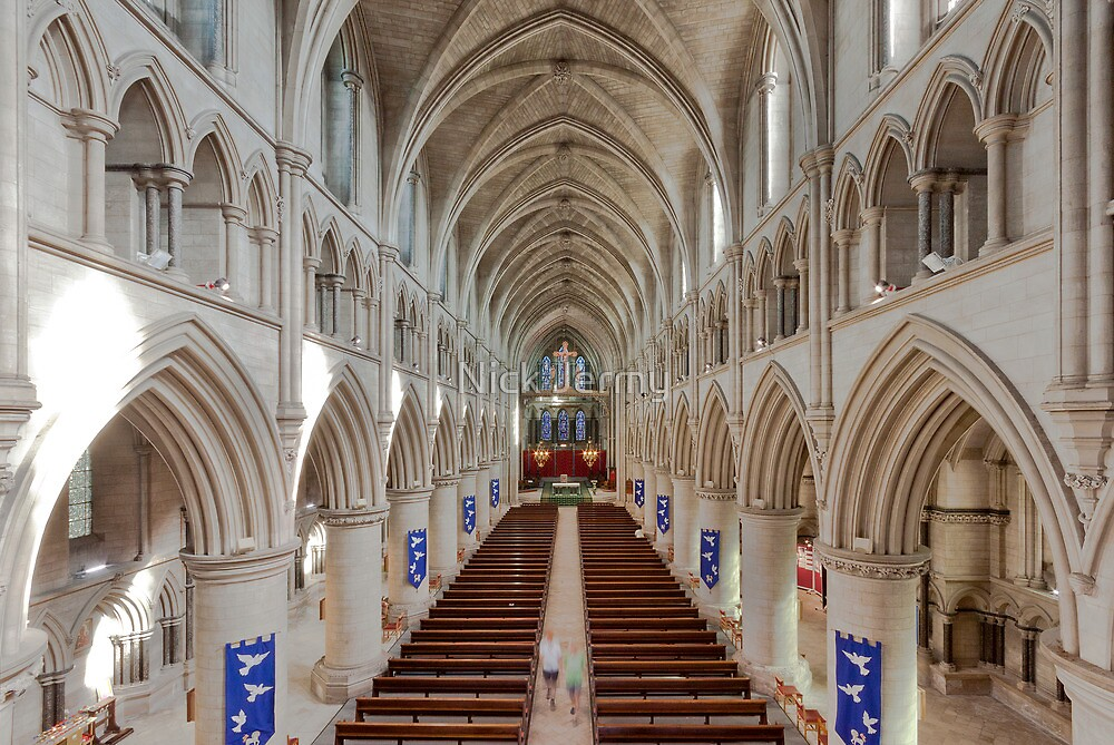 Norwich Roman Catholic Cathedral by Nick Jermy