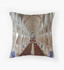 Norwich Roman Catholic Cathedral Throw Pillow