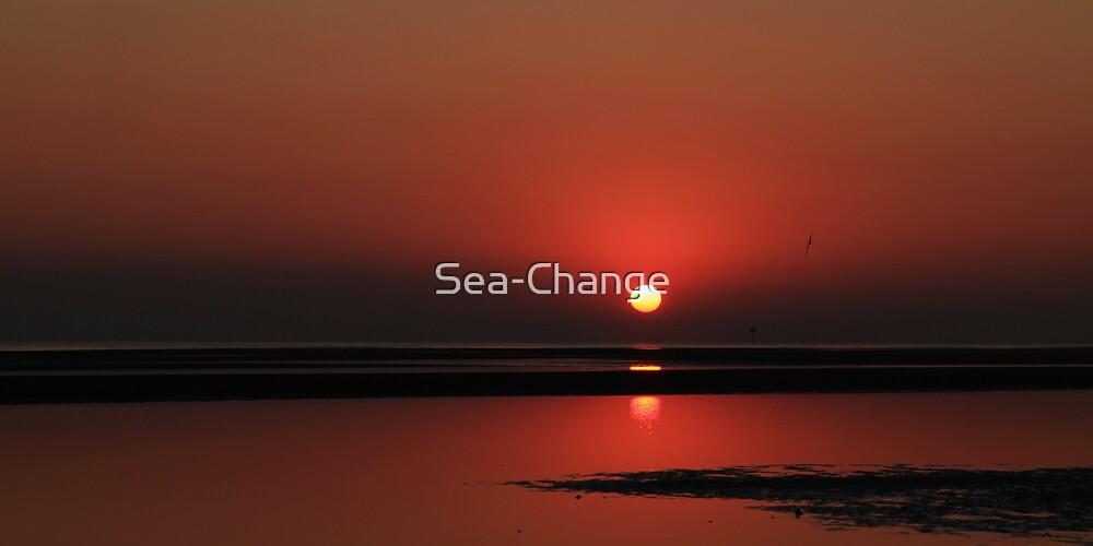 Fiery Sunrise by Sea-Change