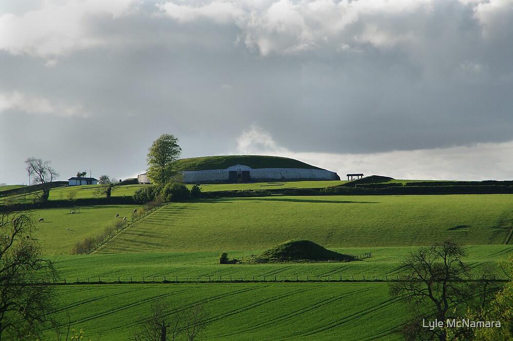 Newgrange in the Afternoon Light by Lyle McNamara