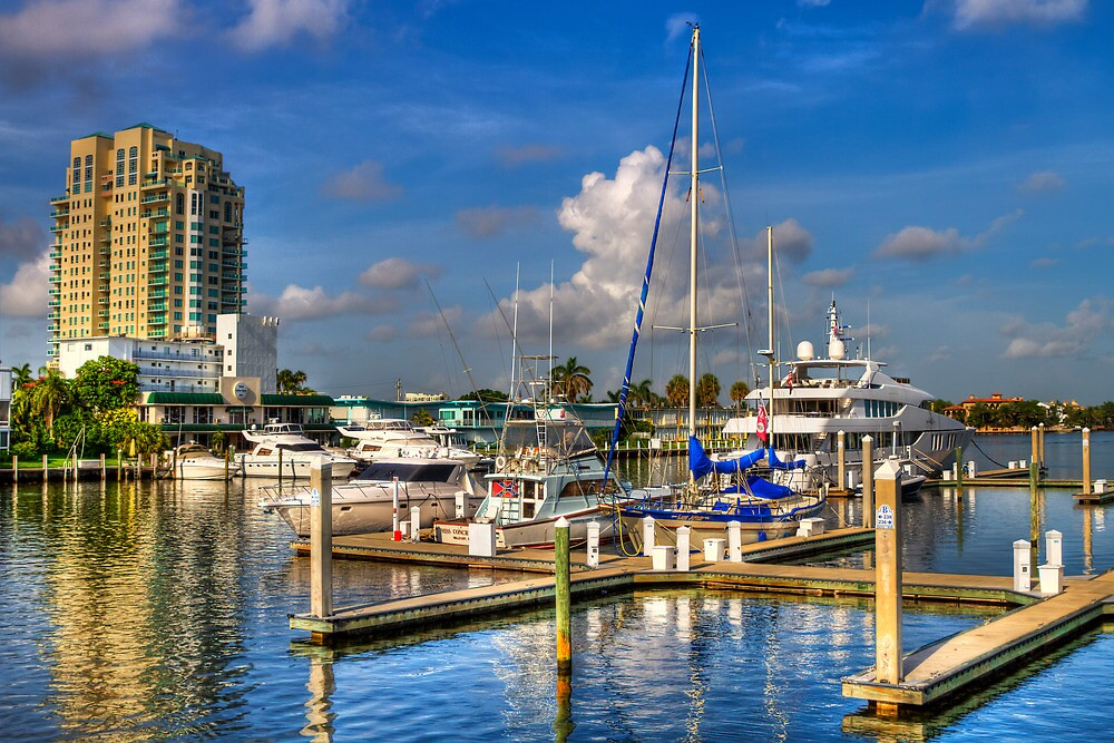 Fort Lauderdale Marina by Ray Chiarello