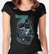 Agent Venom Women's Fitted Scoop T-Shirt