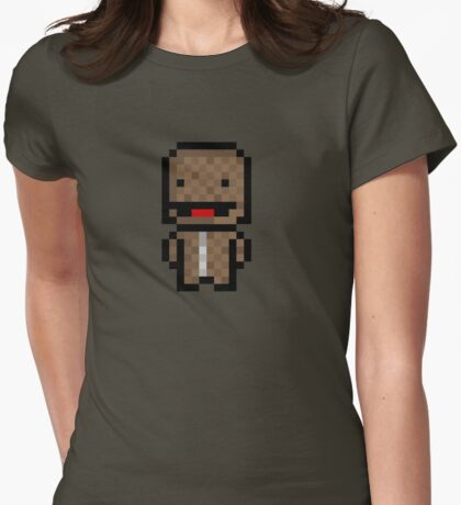Pixel Sackboy Sticker T-Shirt