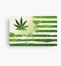 Weed Nation Canvas Print