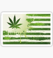 Weed Nation Sticker