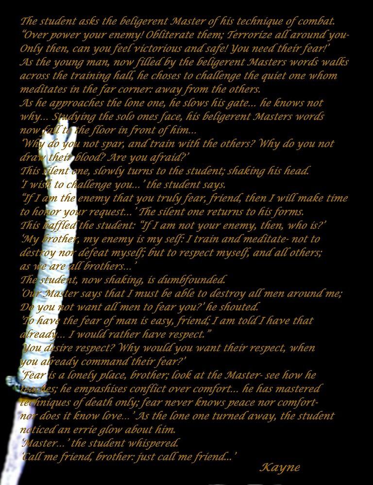 The Beligerent Master by Kevyn Paul Eisenman