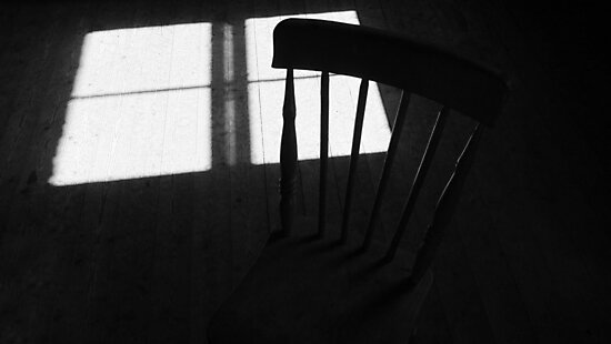 chair @ hand and pen 2m by ragman