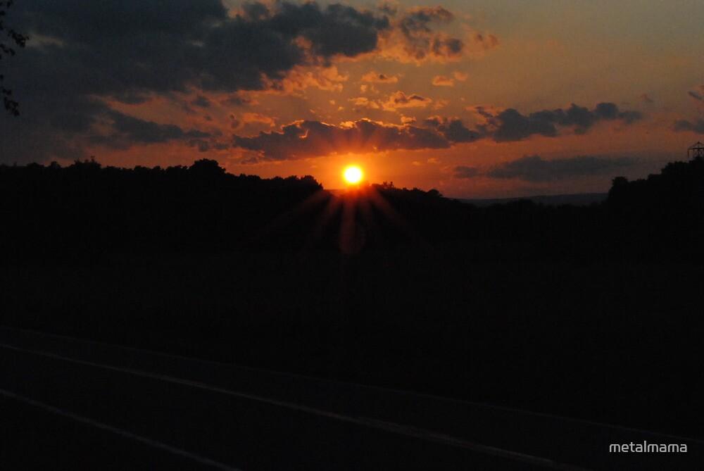 Sunset 1 by metalmama