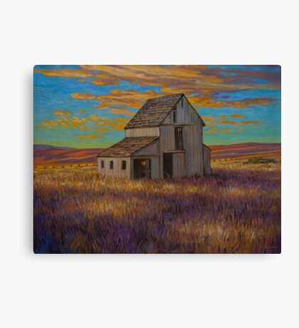 Oklahoma Memories Canvas Print