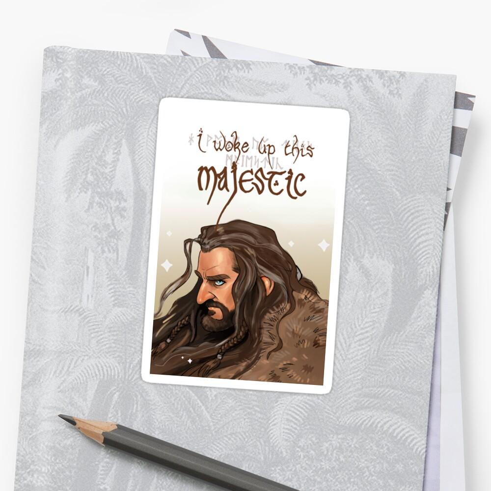 Wachte dieses majestätische auf Sticker