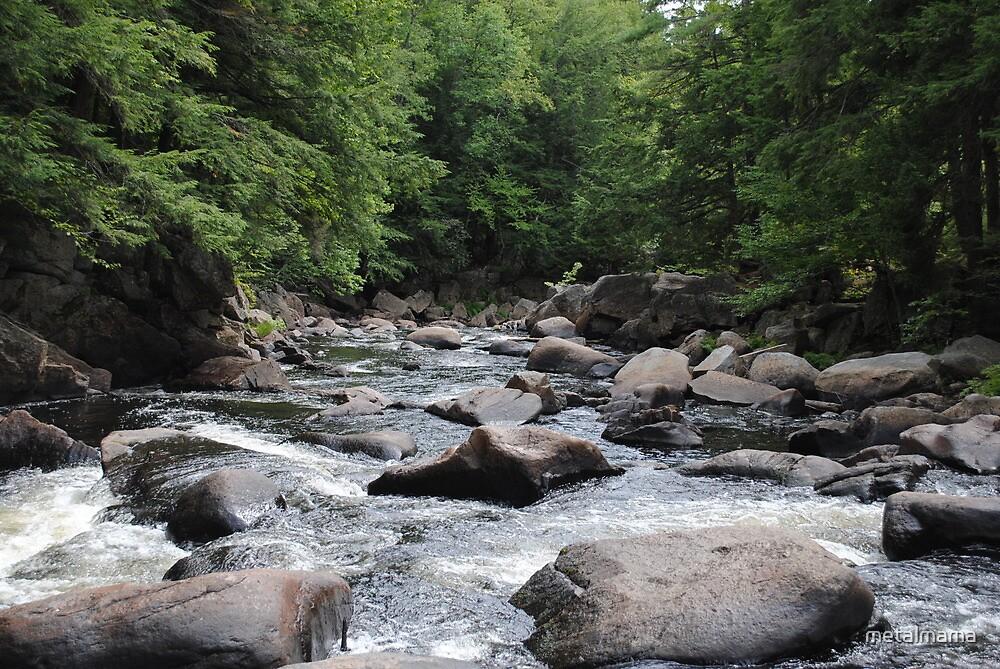 Creek  by metalmama