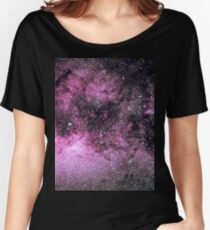 Scorpius Starscape [Pink] Women's Relaxed Fit T-Shirt
