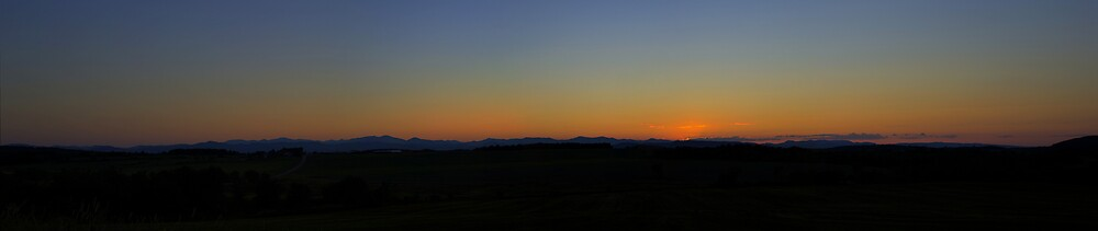 Sunset Over the ADK by Sean Allocca