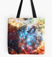 Colorful Star Cluster Tote Bag