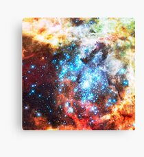 Colorful Star Cluster Canvas Print