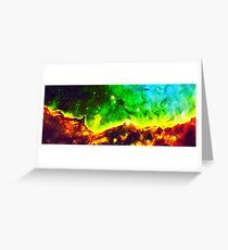Hubble Cloud Greeting Card
