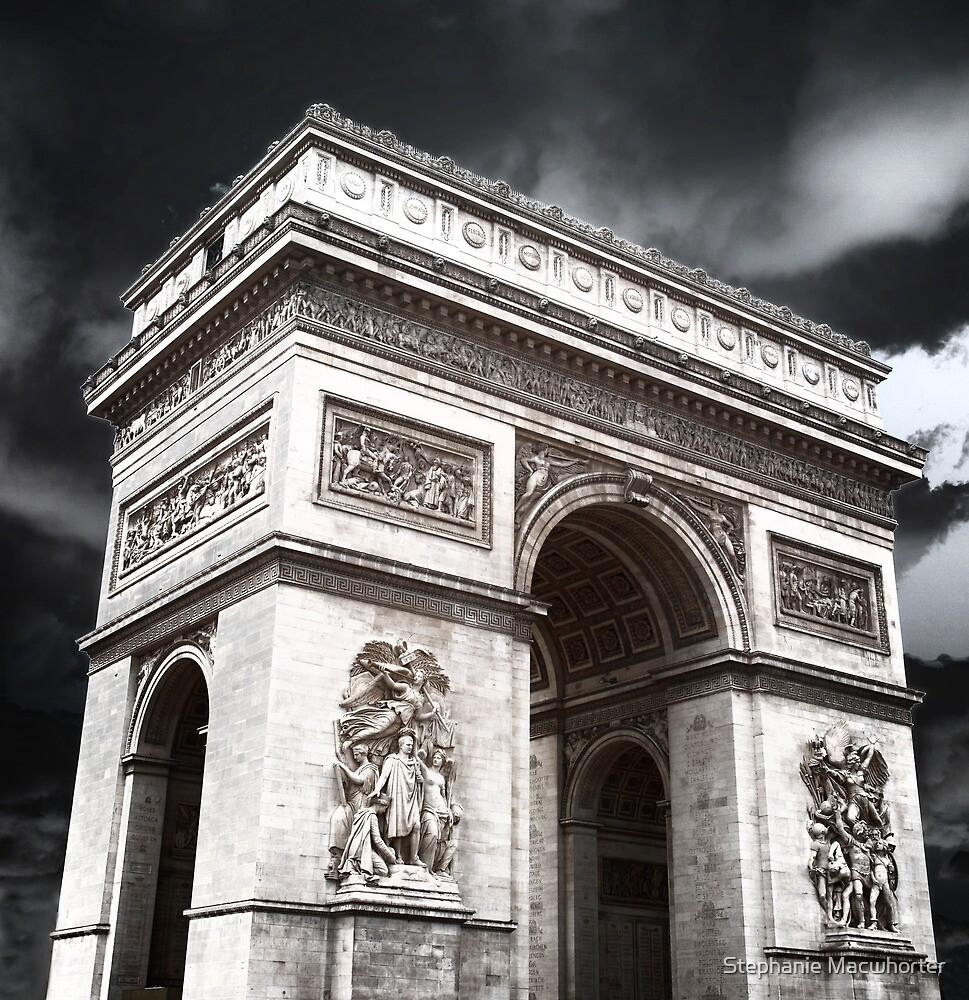 Arc de Triomphe Glow by Stephanie Macwhorter