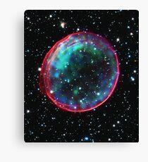 Bubble Supernova Canvas Print