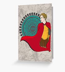 The Roman Who Waited Greeting Card