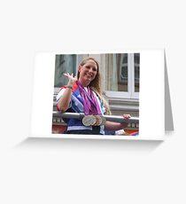 Stephanie Millward - Medals Galore ! Greeting Card