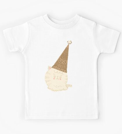 Holiday Ice Cream Cat Kids Clothes
