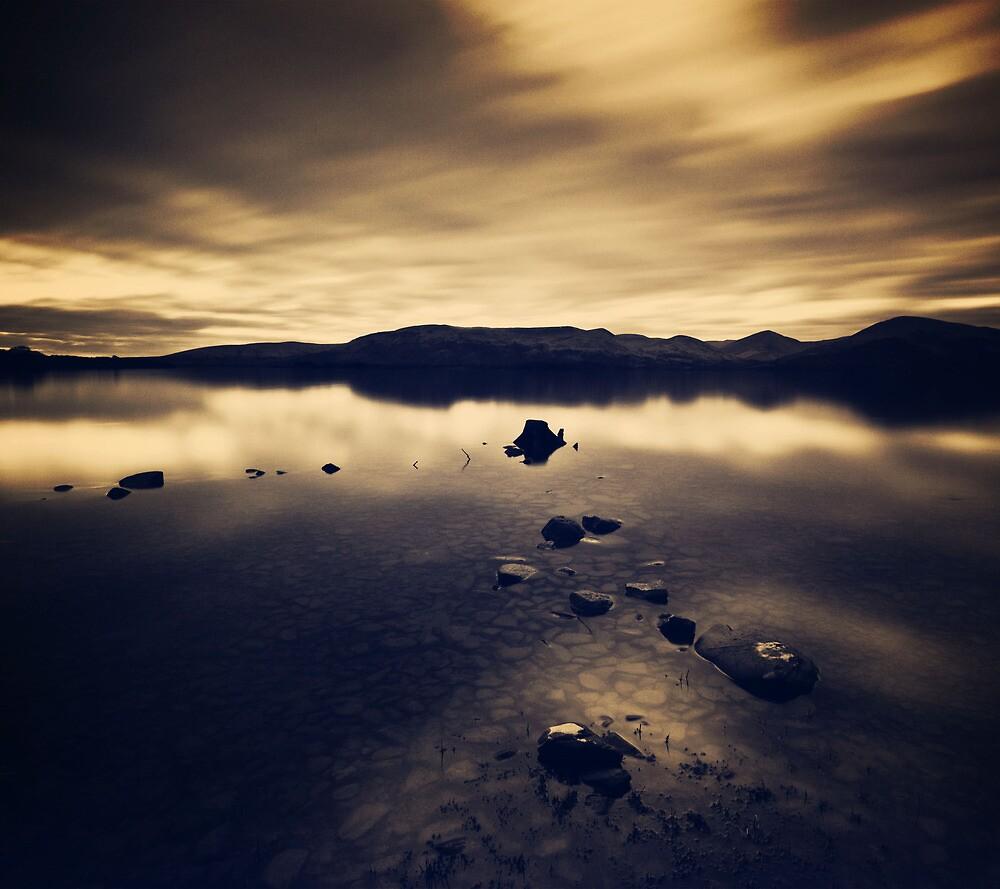Loch Lomond Evening by Lynn Benson