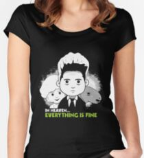 "Saturday Morning ""Eraserhead"" Women's Fitted Scoop T-Shirt"