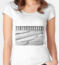 Skim Surfing Women's Fitted Scoop T-Shirt