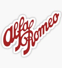 Alfa Romeo Stickers Redbubble
