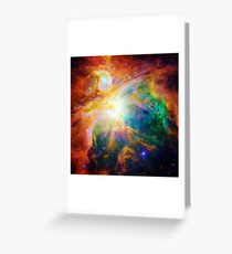 Heart of Orion Greeting Card