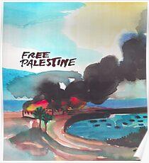 Freies Palästina Poster