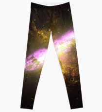 Messier Object 82 [Starburst Nebula] Leggings