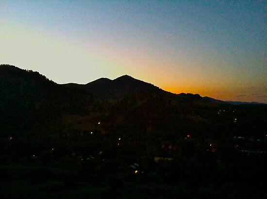 Sunset Boulder, Colorado by GabrielleFrank