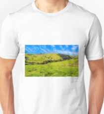 Green Meadow, Santa Ynez valley, CA Unisex T-Shirt