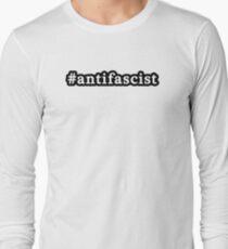 Antifascist - Hashtag - Black & White T-Shirt