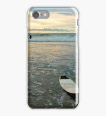 Playa Tamarindo Surf and Sunset iPhone Case/Skin