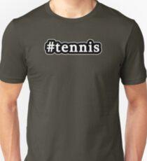 Tennis - Hashtag - Black & White T-Shirt