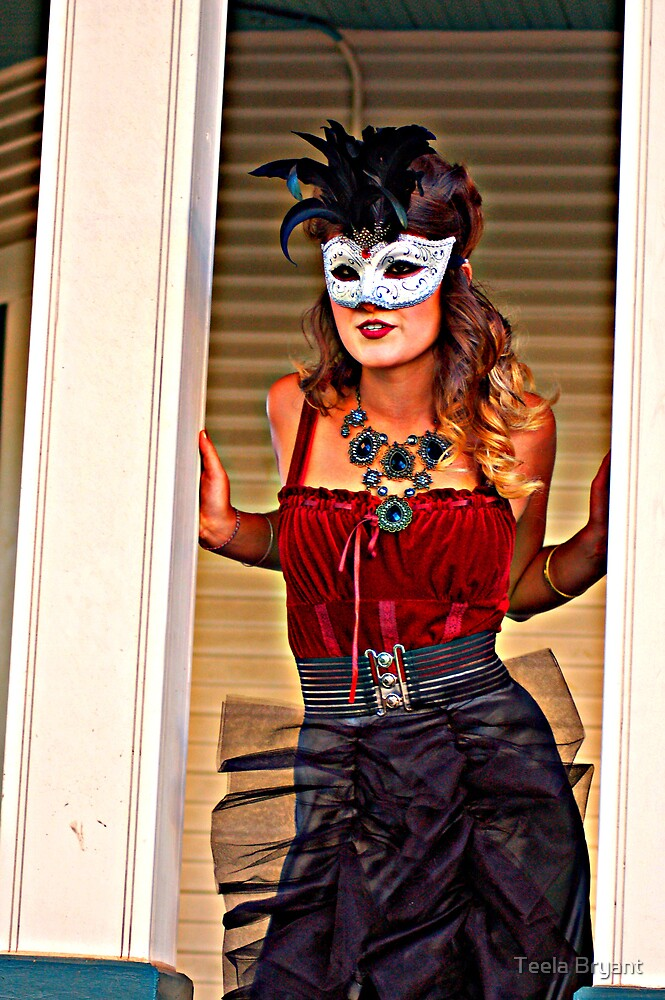 Masks and Masquerade - Natalie by Teela Bryant