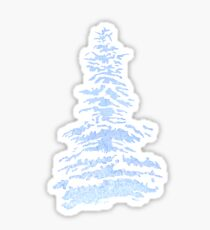 Blue Pine Sticker