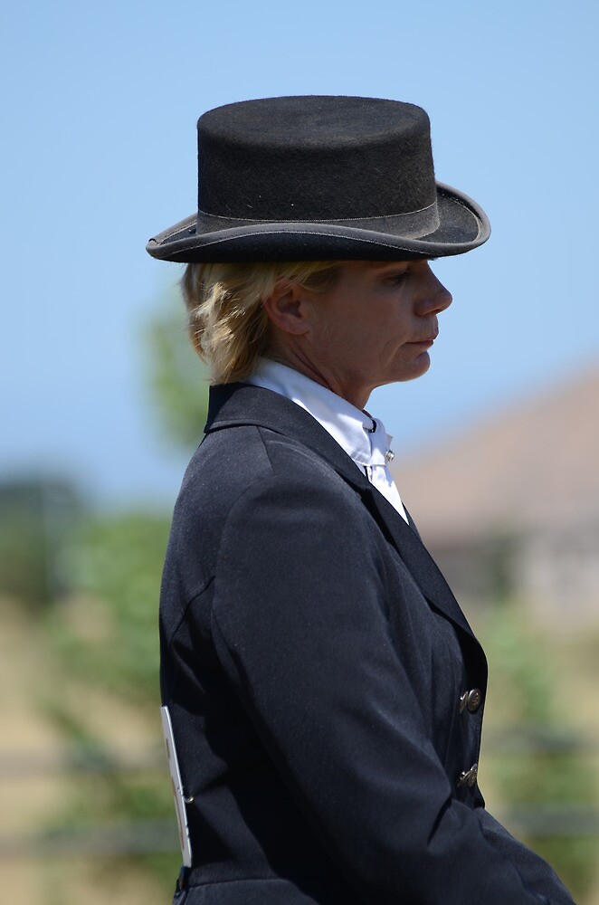 Dressage Rider by BluePromises