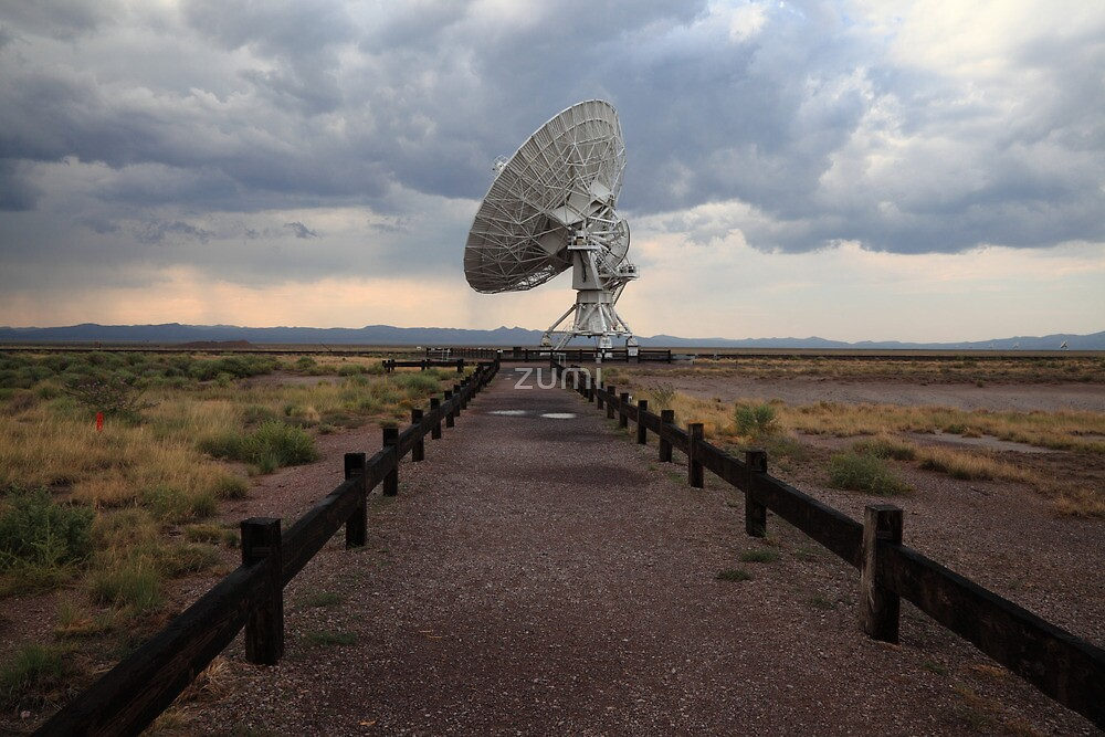 Radiotelescope by zumi