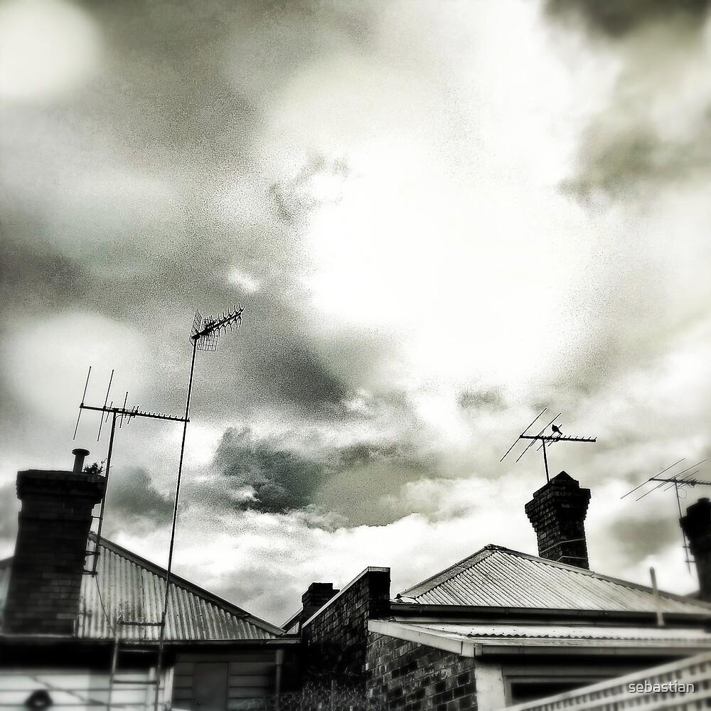 melbourne... fragments: richmond skyline by sebastian