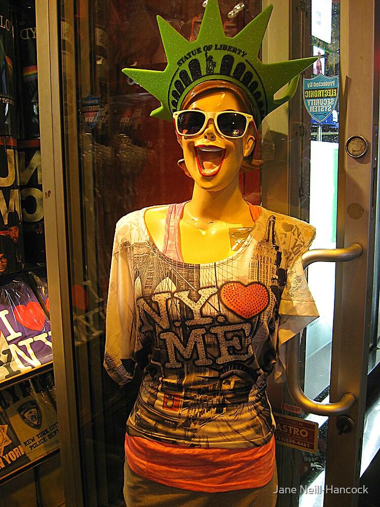 Bizarre Mannequin Outside A Store on 42nd Street by Jane Neill-Hancock