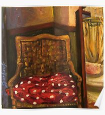 Sycamore Canyon Studio Chair Poster