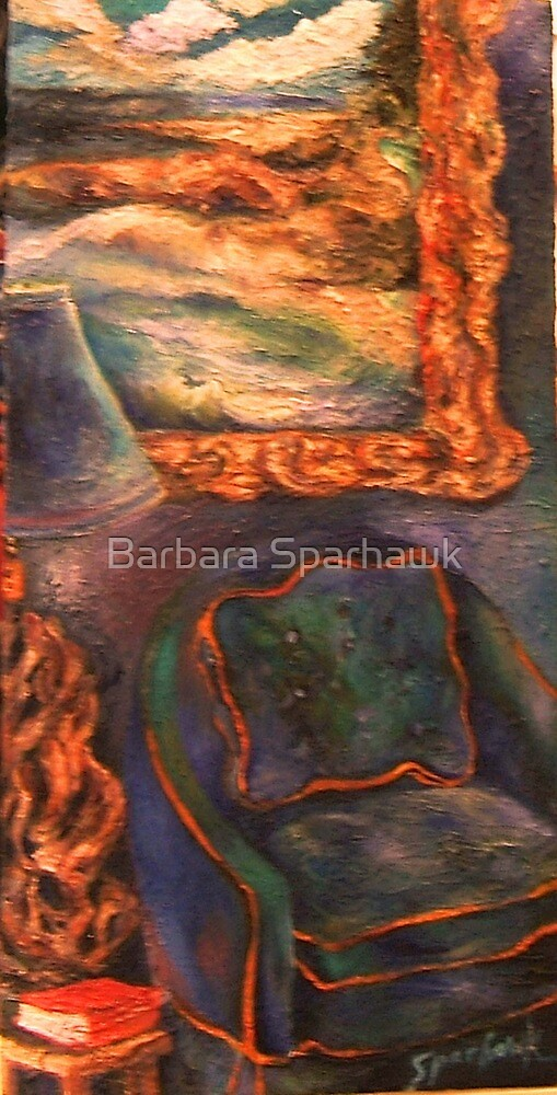 Night In The Library by Barbara Sparhawk