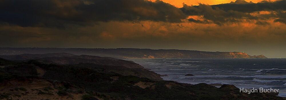 Cape Schanck Mornington Peninsula by Haydn Bucher