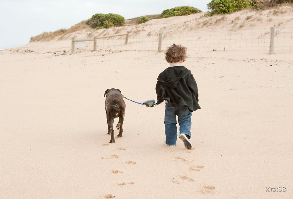 boy and his dog by kirst68