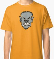 Angry Halloween Werewolf Classic T-Shirt