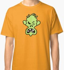 Angry Halloween Zombie Classic T-Shirt