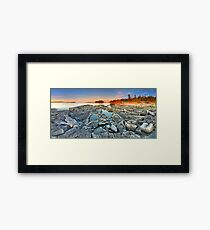 Dunk's Point in Tobermory Framed Print
